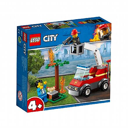 Brinquedo - LEGO City - Extinção de Fogo no Churrasco - 60212