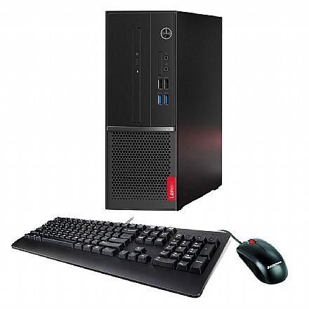 Computador - Computador Lenovo V530S SFF - Intel i5 8400, 8GB, HD 1TB, Kit Teclado e Mouse, Windows 10 Pro - 10TXA01CBP