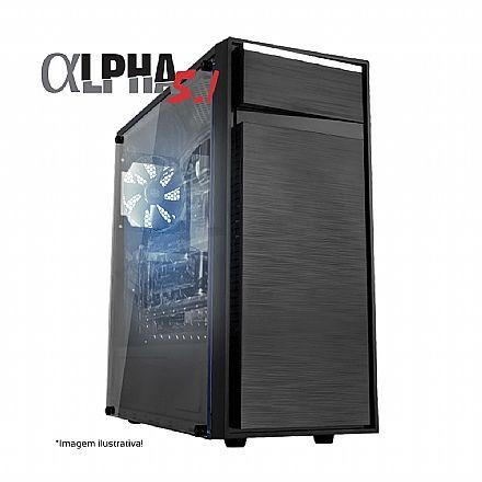 Computador Gamer - PC Gamer Bits Alpha 5.1 - Intel® i5 9400F, 8GB, HD 500GB, Geforce GTX 1660 6GB