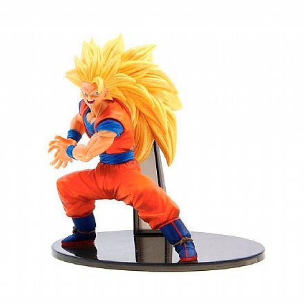 Brinquedo - Action Figure - Dragon Ball Z - Fes!! Figure - Super Saiyan 3 Goku Special - Bandai Banpresto 27814/27815