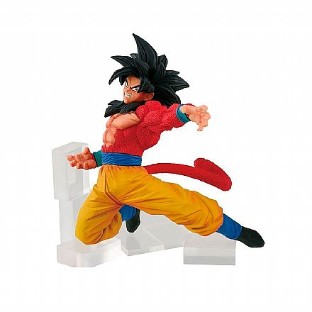Brinquedo - Action Figure - Dragon Ball GT - Fes!! Figure - Super Saiyan 4 Son Goku Special - Bandai Banpresto 27816/27817