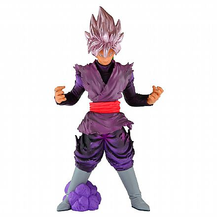 Brinquedo - Action Figure - Dragon Ball Super - Blood Of Saiyans - Super Saiyan Goku Black Rose - Bandai Banpresto 26758/26759
