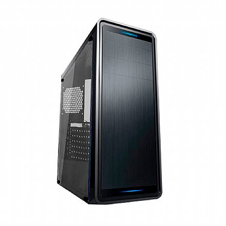 Gabinete - Gabinete Gamer BPC - Janela Lateral em Acrílico - USB 3.0 - BPC GM8018-BB