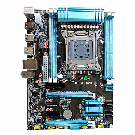 Placa Mãe para Intel - Placa Mãe BPC-X79-V288 (LGA 2011 - DDR3 1600) - Chipset Intel X79