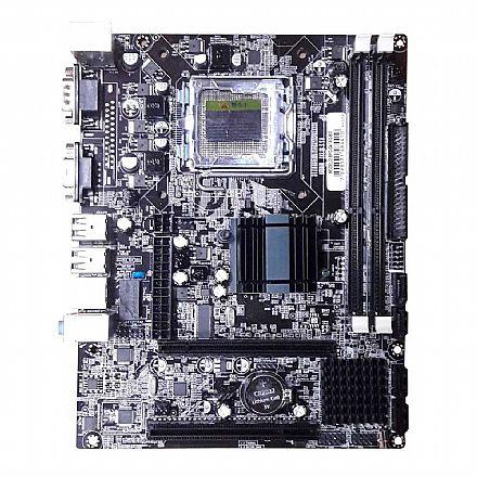 Placa Mãe para Intel - Placa Mãe BPC-G41AG-B3 (LGA 775 - DDR3) Chipset Intel G41- Micro ATX