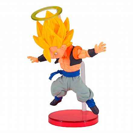 Brinquedo - Action Figure - Dragon Ball - World Collectable Figure - Saiyans Bravery Vol. 2 - Gogeta - Bandai Banbresto 26722/26723