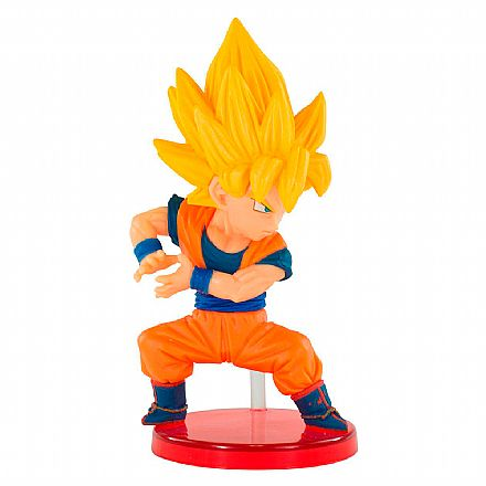 Brinquedo - Action Figure - Dragon Ball - World Collectable Figure - Kamehameha - Goku Saiyajin - Bandai Banpresto 26639/26640