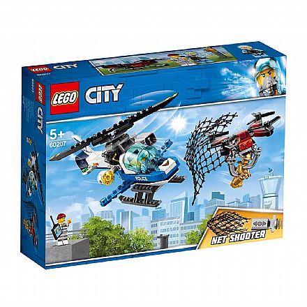 Brinquedo - LEGO City - Perseguição de Drone - 60207