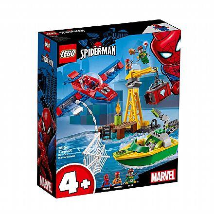 Brinquedo - LEGO Marvel Super Heroes - Homem-Aranha contra Doutor Octopus - 76134