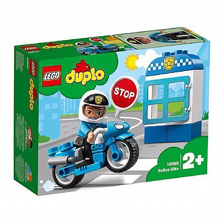 Brinquedo - LEGO Duplo - Motocicleta da Policia - 10900