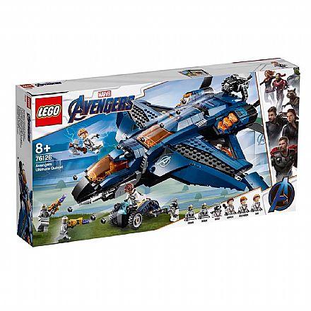 Brinquedo - LEGO Marvel Super Heroes - Quinjet dos Vingadores - 76126