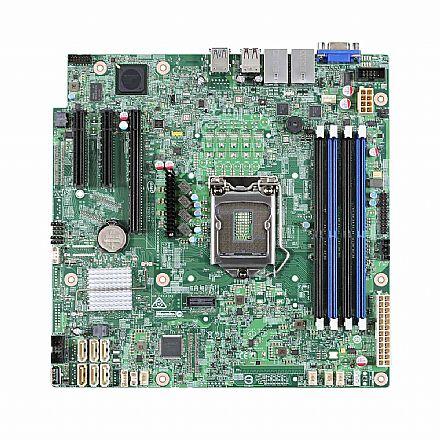 Placa Mãe para Intel - Intel DBS1200SPSR (LGA 1151 - DDR4 2133) - Chipset Intel C232 - Micro ATX