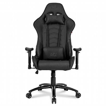 Cadeiras - Cadeira Gamer DT3 Sports Elise Black - Encosto Reclinável de 180º - Construção em Aço - 11833-6