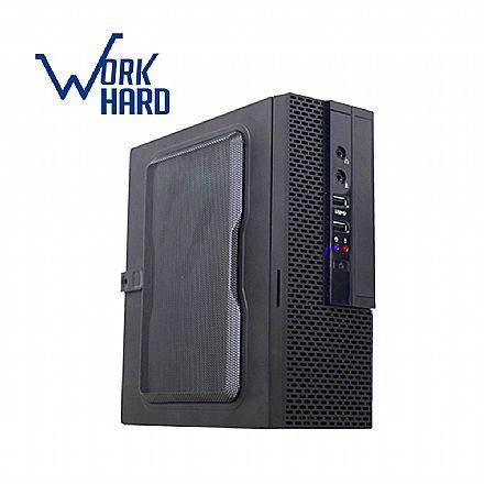 Computador - Computador Bits WorkHard ITX - Intel Celeron J1800, Dual Core, 4GB, SSD 120GB, FreeDos - 2 Anos de garantia