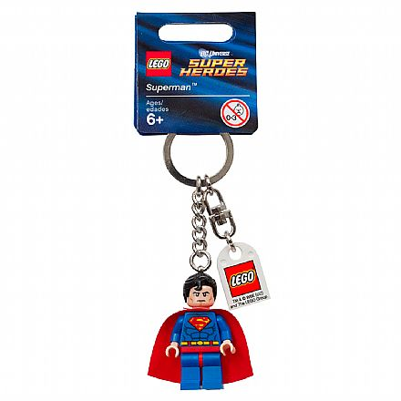 Brinquedo - LEGO - Chaveiro - DC Super Heroes - Superman - 853430