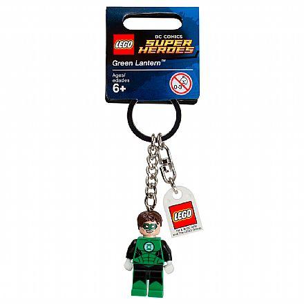 Brinquedo - LEGO - Chaveiro - DC Super Heroes - Lanterna Verde - 853452