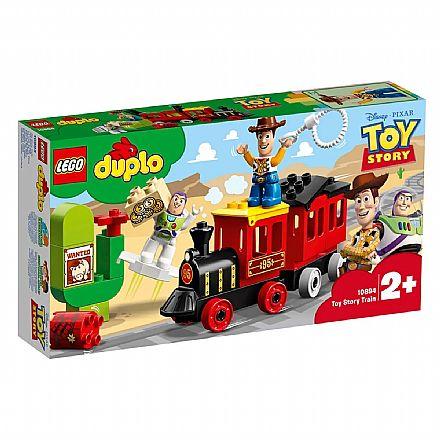 Brinquedo - LEGO Duplo - O Trem do Toy Story - 10894