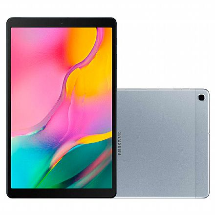 "Tablet - Tablet Samsung Galaxy Tab A T510 - Tela 10.1"" WUXGA, 32GB, Octa-Core, Câmera Traseira 8MP + Frontal 5MP - SM-T510 - Prata"
