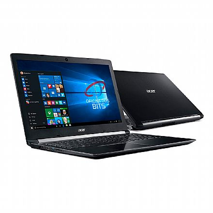 "Notebook - Notebook Acer Aspire A515-51-C2TQ - Tela 15.6"" HD, Intel i7 8550U, 20GB, SSD 480GB, Windows 10 Professional"