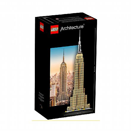 Brinquedo - LEGO Architecture - Empire State Building - 21046
