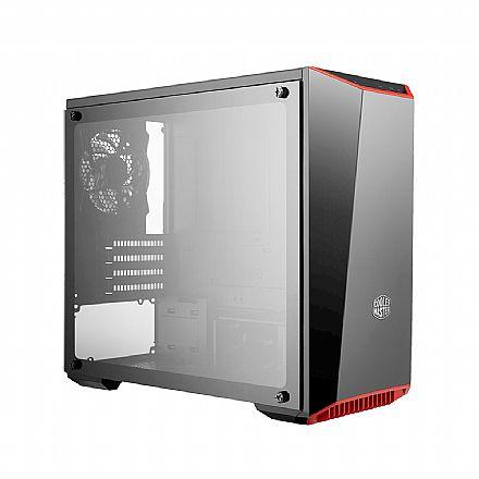 Gabinete - Gabinete Cooler Master MasterBox Lite 3.1 TG - Janela Lateral em Vidro Temperado - USB 3.0 - MCW-L3S3-KGNN-00