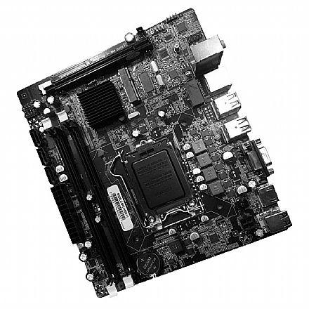 Placa Mãe para Intel - Placa Mãe BPC-H55M-V1 (LGA 1156 - DDR3 1600) Chipset Intel H55 - Micro ATX - OEM