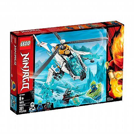 Brinquedo - LEGO Ninjago - ShuriCóptero - 70673