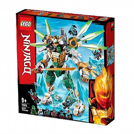 Brinquedo - LEGO Ninjago - O Robô Titã de Lloyd - 70676