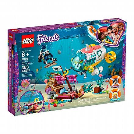 Brinquedo - LEGO Friends - Missão de Resgate do Golfinho - 41378