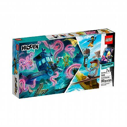 Brinquedo - LEGO Hidden Side - Barco de Pesca de Camarão Naufragado - 70419
