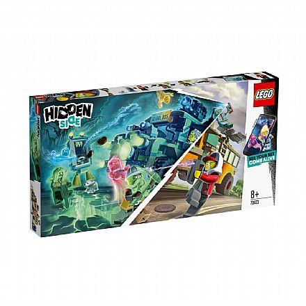 Brinquedo - LEGO Hidden Side - Ônibus Interceptor Paranormal 3000 - 70423