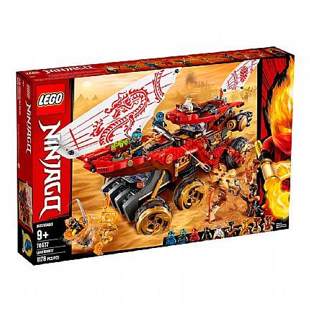 Brinquedo - LEGO Ninjago - Recompensa da Terra - 70677