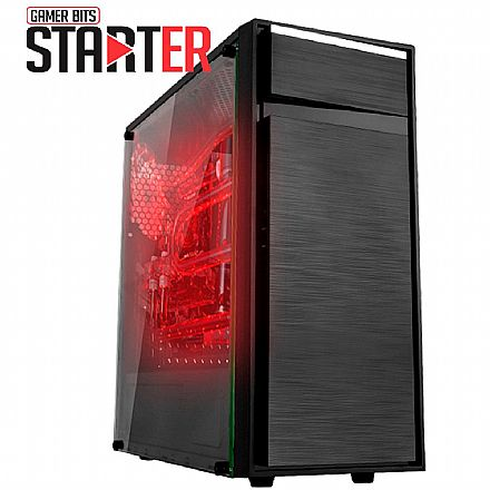 Computador Gamer - PC Gamer Bits Starter - AMD FX-4300, 8GB, SSD 240, Geforce GTX 750