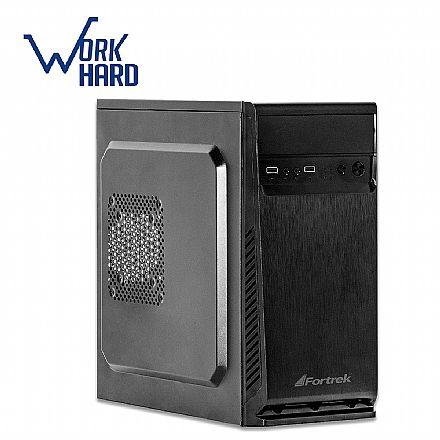 Computador - Computador Bits WorkHard - AMD FX-4300 Quad Core, 8GB, SSD 240GB, FreeDos - 2 Anos de garantia