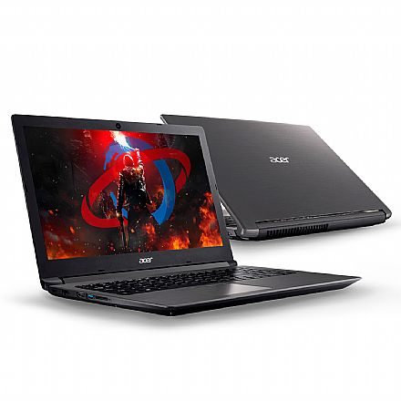 "Notebook - Notebook Acer Aspire Gamer A315-41G-R21B - Tela 15.6"" HD, Ryzen 5 2500U, 8GB, SSD 240 + HD 1TB, Radeon™ 535 2GB + Radeon™ Vega 8, Windows 10"
