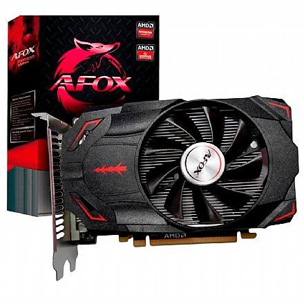 Placa de Vídeo - AMD Radeon RX550 2GB GDDR5 128bits - AFOX AFRX550-2048D5H3