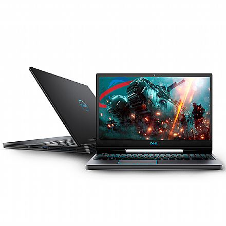"Notebook - Notebook Dell Gaming G5-5590-A30P - Tela 15.6"" Full HD IPS, Intel i7 9750H, 16GB, HD 1TB + SSD 256GB, GeForce GTX 1660Ti 6GB, Windows 10 - Preto"