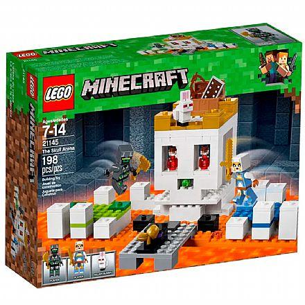 Brinquedo - LEGO Minecraft - A Arena da Caveira - 21145