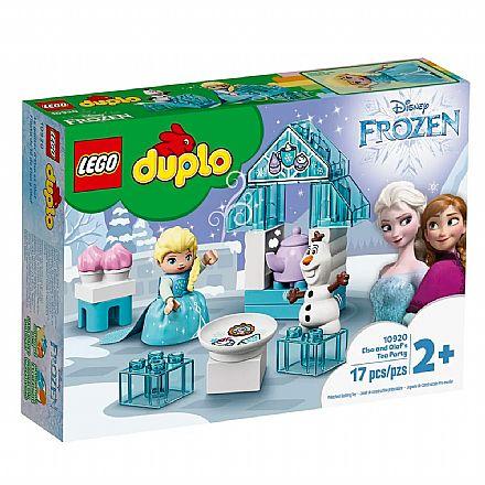 Brinquedo - LEGO Duplo - A Festa do Cha da Elsa e do Olaf - 10920