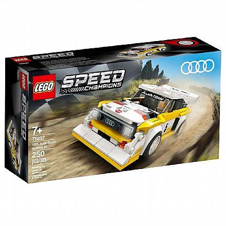 Brinquedo - LEGO Speed Champions - 1985 Audi Sport quattro S1 - 76897