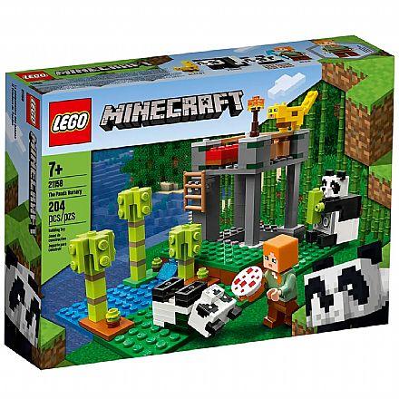 Brinquedo - LEGO Minecraft - A Creche dos Pandas - 21158