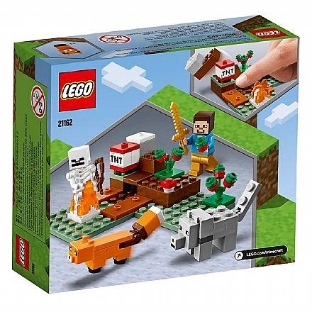 Brinquedo - LEGO Minecraft - A Aventura em Taiga - 21162