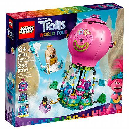 Brinquedo - LEGO Trolls - Word Tour - A Aventura no Balão de Poppy - 41252