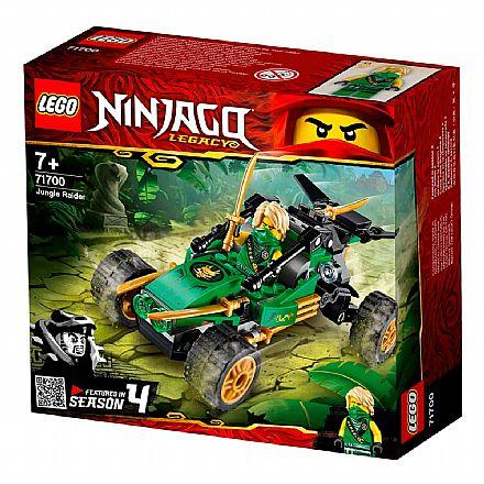 Brinquedo - LEGO Ninjago - Invasor da Selva - 71700