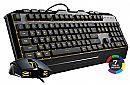 Kit Teclado e Mouse Gamer Cooler Master Devastator lll - LED 7 Cores - 2400dpi - ABNT2 - SGB-3000-KKMF1-BR