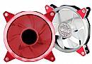 Cooler 120x120mm Akasa Vegas R - LED Vermelho - AK-FN097-RD