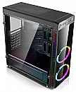Gabinete Gamer C3 Tech MT-G1000BK - USB 3.0 - Janela Lateral de Vidro - LED RGB