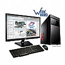 "Computador Bits WorkHard - Intel Core i5, 8GB, HD 1TB, Monitor 19.5"", com Mouse e Teclado, FreeDos - Garantia 1 ano"