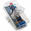 Protetor Contra Raios Clamper Energia com Telefone - Bivolt - Transparente - 8528