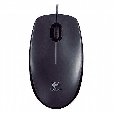 Mouse Logitech M100 - USB - 910-003241